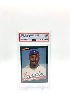 Bo Jackson 1986 Donruss Rookies PSA 9 MINT #38 Kansas City Royals RC