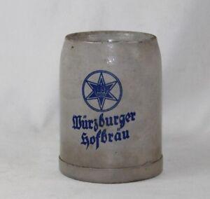 Wurzburger Hofbrau Beer Stein Mug 0.5L Made in Germany