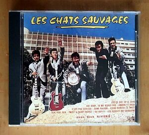 LES-CHATS-SAUVAGES-avec-DICK-RIVERS-CD-1987-rare-034-Twist-a-Saint-Tropez-034