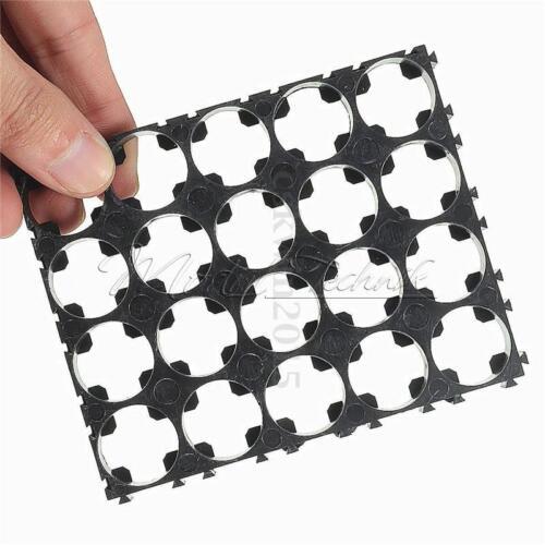 1//2//10PCS 18650 Battery 4x5 Cell Spacer Radiating Shell Pack Plastic Heat Holder