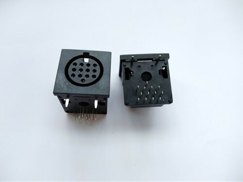 20 pcs DIN Jack Circular Female PCB Mount Connector free shipping