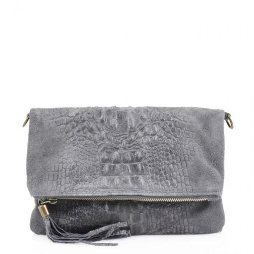 Women VP-SN10 Leather Snakeskin Clutch Bag Ladies Cross Body Shoulder Hand Bag