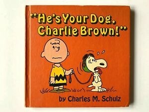 1968-1st-Edition-He-039-s-Your-Dog-Charlie-Brown-by-Charles-M-Schulz-HC