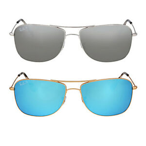 polarized mirrored aviator sunglasses  Ray Ban Polarized Mirror Aviator Sunglasses RB3543 - Choose color