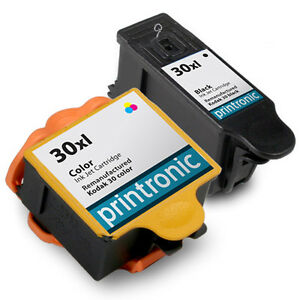 Details about 2 Pack 30XL Combo Ink Cartridge for Kodak ESP 3 2 C310 C315  2170 Hero 3 1 5 1
