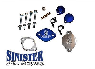 SINISTER DIESEL EGR DELETE KIT FOR FORD POWERSTOKE 2008-2010 6.4L SD-EGRD-6.4
