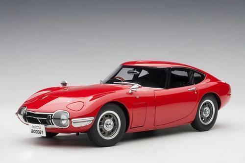 AUTOart Toyota 2000 GT Coupe 1965 rot 1 18 78751  | Modern Und Elegant