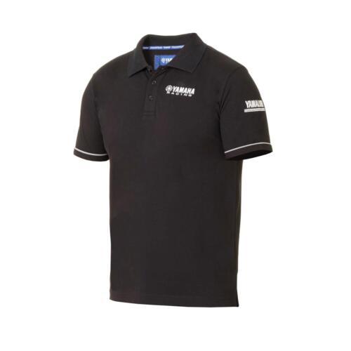 Yamaha Racing 2018 Paddock Azul Para Hombres Camisa Polo-Nagan-Negro-B18-FT114-B0