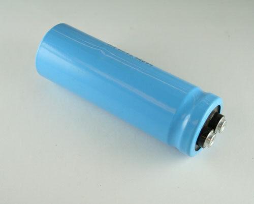 Lot de 2 MALLORY 6100uF 50 V GRAND peut condensateur électrolytique CGS612U050R4C
