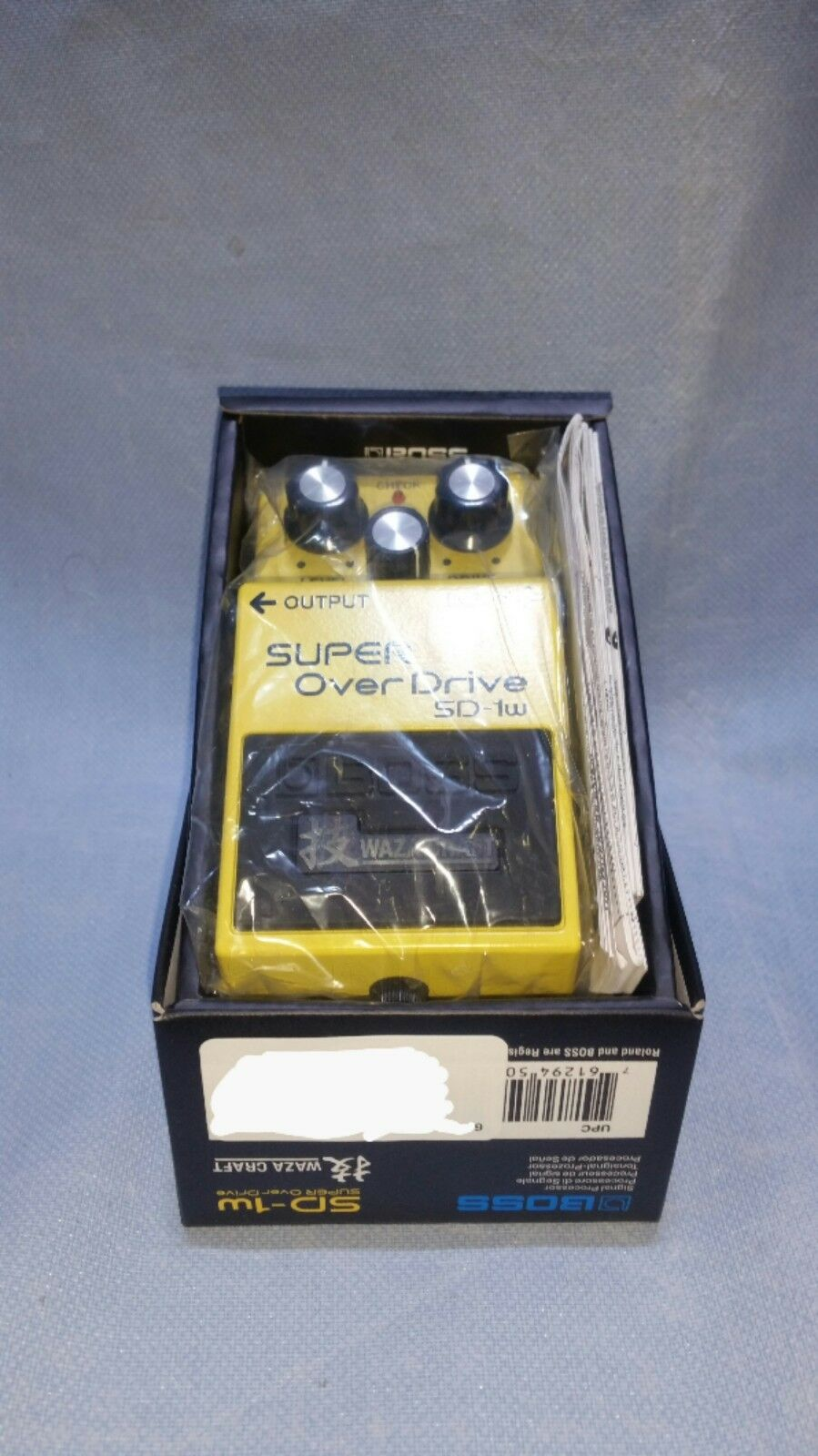 Boss SD-1W Overdrive Guitar Effect Pedal