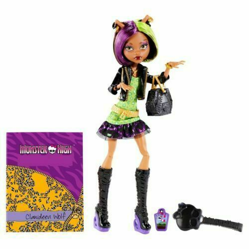 Monster High Scaremester Clawdeen Wolf Doll N2851 Mattel Bdd78 6 For Sale Online Ebay