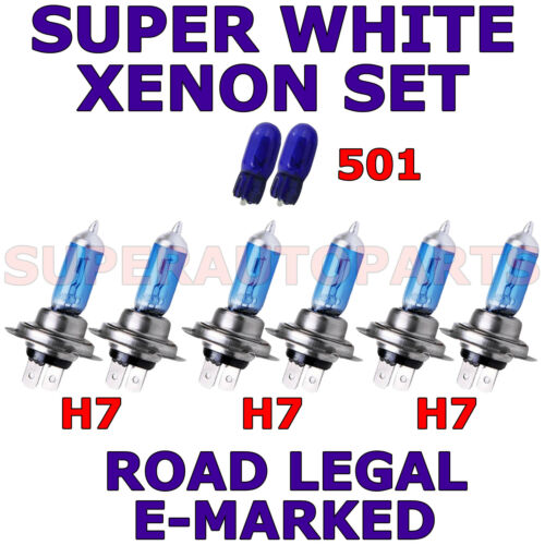 RENAULT CLIO 2006-ON  SET H7  H7  H7 501 XENON LIGHT BULBS