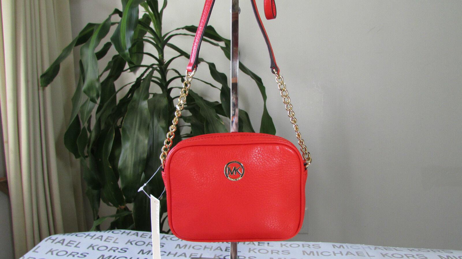 809ffa29f48d3b Buy Michael Kors Genuine Leather Hamilton or Fulton Small Crossbody ...