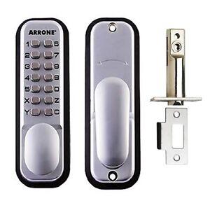 Hoppe-Arrone-Digital-Push-Button-Door-Key-Pad-Lock-AR-D-195MC