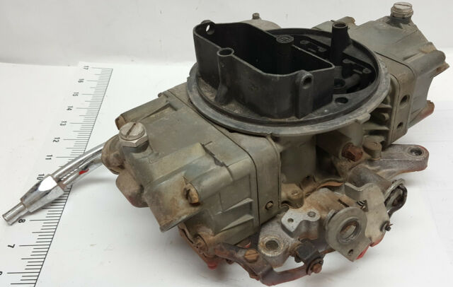 Corvette Carburetor Holley List 2818-1 3849804 Date 404 with dual inlet bowls