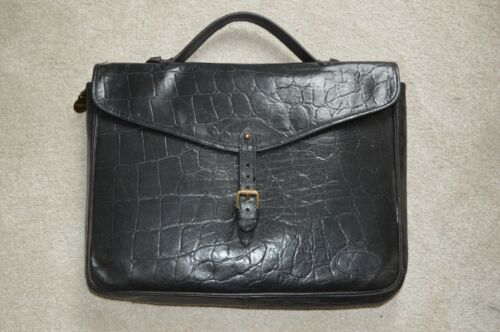 Unisex Document Congo Aktentasche aus Bag Black Leder Mens Mulberry Holdall Satchel qxCZRwxv