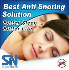 Silent Night Sleep Aid Mouth Guard Stops Teeth Grinding-BPA Free