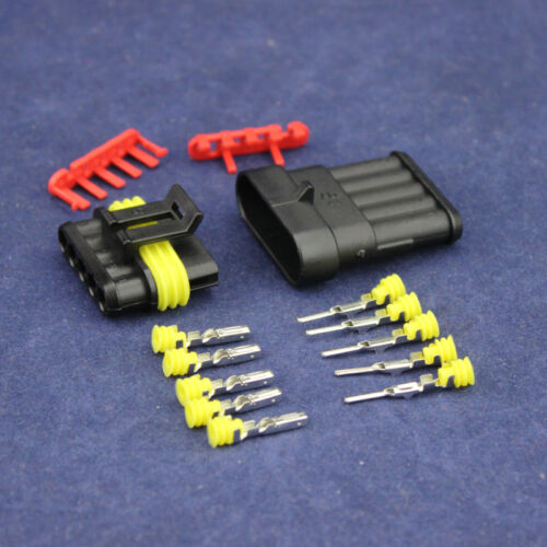 Car Boat 30Set Waterproof 1 2 3 4 5 6 Ways Sealed Electrical Wire Connector Plug