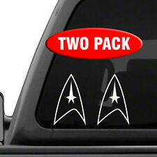 """Star Trek Starfleet Academy Deep Space 9 Vinyl Car Sticker Decal 4/"""""""