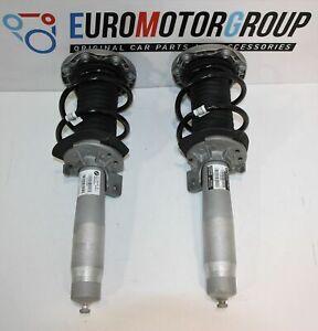 BMW-Fronte-Molla-Puntone-Sinistra-Destra-Coilover-Ammortizzatore-Frontale-F87