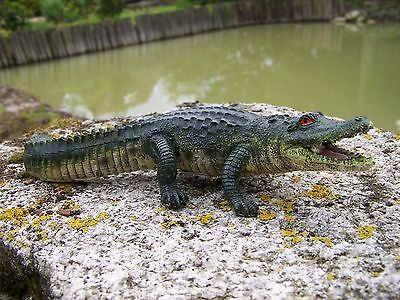 Gentile Me0815 Figurine Statuette Statue Alligator Crocodile Saurien 23cm Nuove Varietà Sono Introdotte Una Dopo L'Altra