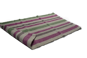 Image Is Loading 100 Cotton Stripe Indoor Rug Area Rag Rugs