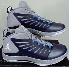 New Mens 16 NIKE Jordan PrimeFly 2 Navy Grey Basketball Shoes 0 654287-407