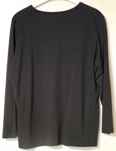 No Camicia Secret Marca Black Grey Viscose 44 Taglia ZZgAqF