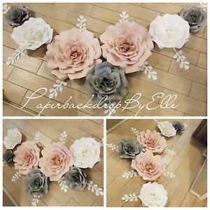 55 Holiday Sale Handmade Beautiful Paper Flower Backdrop Decor