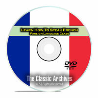 Learn How To Speak French, Fast & Easy Foreign Language Training Course, Dvd D93