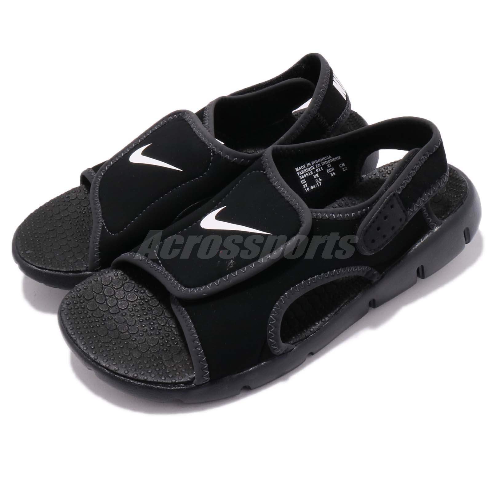 Nike sunray anpassung 4 gs - ps - schwarz - sport weiße junge jugend - sport - - Sandalee schuhe 386518-011 4c3d1e