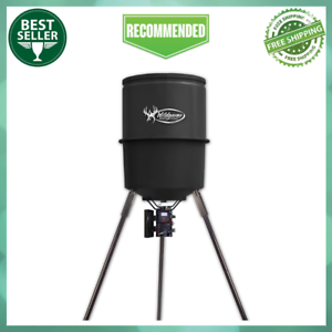 30 Gallon Heavy Duty Hunting Deer Quick Set 225 Game Feeder with Digital Timer