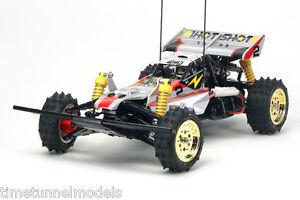Kit Rc Tamiya 58517 Super Hotshot (Super Shot) - Offre groupée avec radio à volant