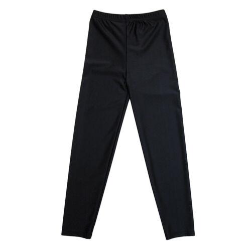 Zeco School Uniform ragazze Stretch Lycra Sport Danza P.E GS3085 Leggings