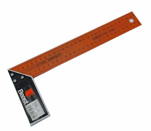 NEUVE Equerre de charpentier menuisier en métal 250 mm