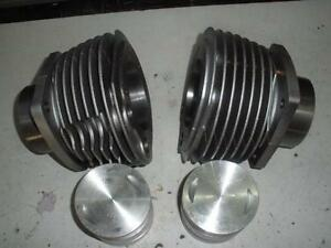 PAIR-URAL-650-CYLINDERS-WITH-PISTONS-RINGS-AND-GASKET-SET-n