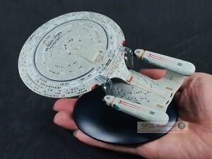 STAR-TREK-USS-Enterprise-NCC-1701-D-Eaglemoss-Diecast-Metal-Model-Starship-A611