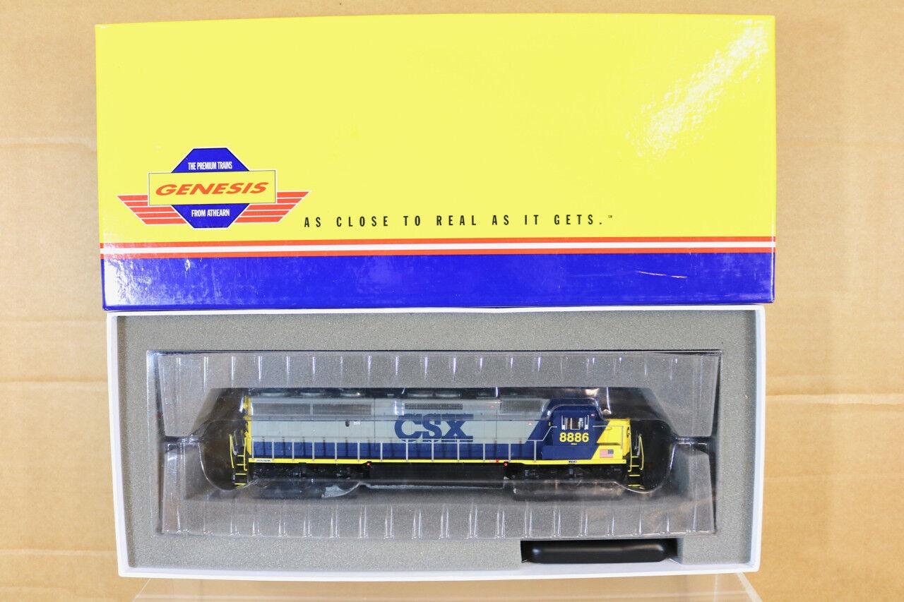 Athearn G67157 DCC Sonido Csx Clase SD45-2 Diesel Loco 8886 en Caja Nn