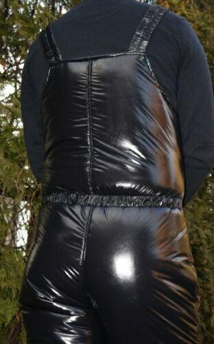 Ultra Shiny nylon LACQUER NYLON  1K Ski pants  S-4XL 6 mm