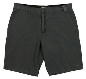 O-039-NEILL-Jack-O-039-Neill-Coastal-Chino-Shorts-sz-34-Asphalt-Gray-Sea-Washed-Fabric