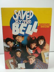 Saved-By-the-Bell-Seasons-1-2-DVD-2003-5-Disc-Set-1st-2nd-TV-Series
