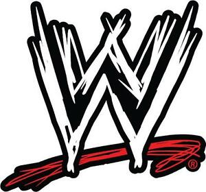Image Is Loading Choose Size Color WWE LOGO Decal Removable WALL  Part 67