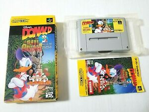 Nintendo Super Famicom Donald Duck in Maui Mallard Japan 0303A13