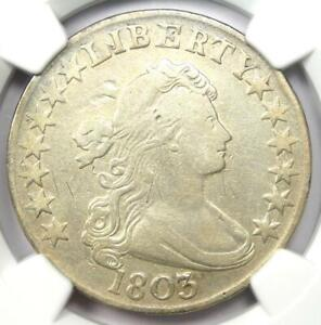 1803 Draped Bust Half Dollar 50C Coin - Certified NGC VF Details!