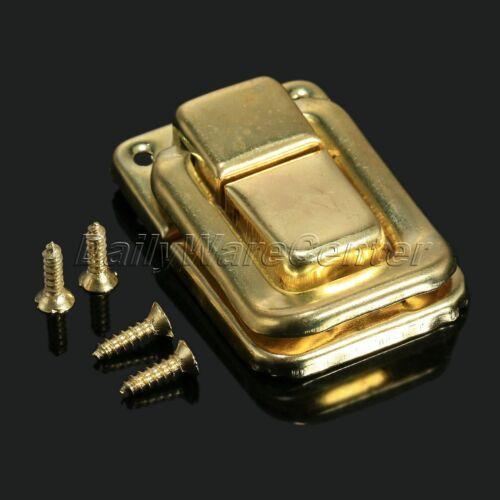 6pcs Vintage Latch Catch Clip Hasp Jewelry Box Wine Chests Lock Hook Decorative
