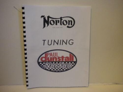 Dunstall Norton Commando Manual