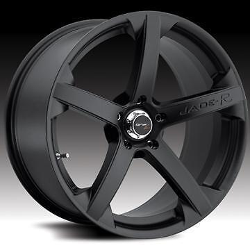 "18"" BLACK JADE R ALLOY WHEELS FITS BMW 392 3 SERIES 07>"