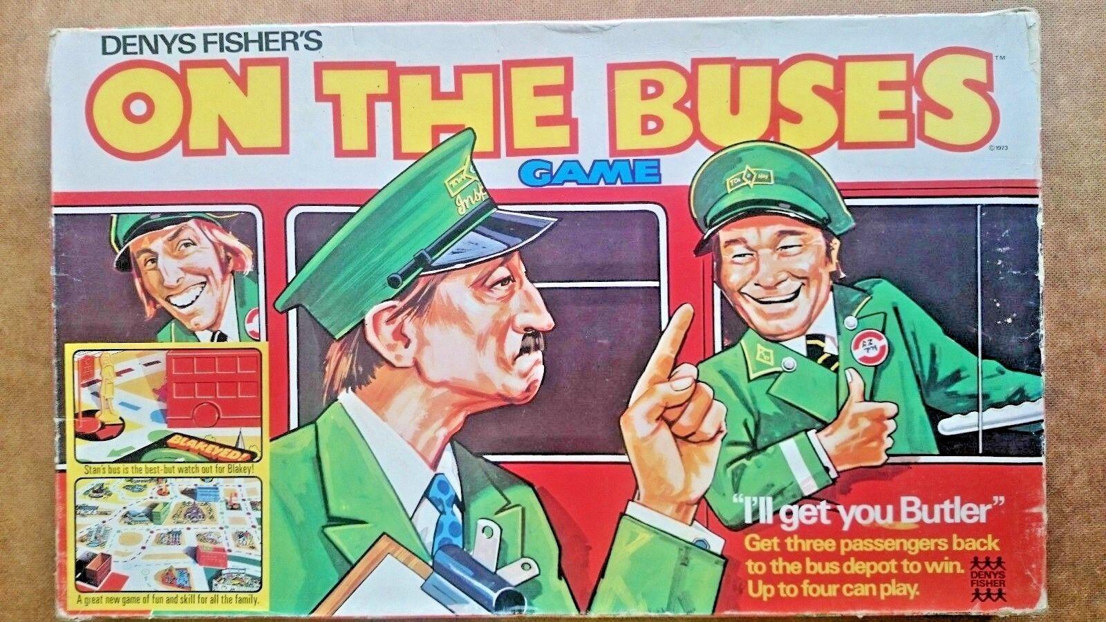muchas sorpresas Vintage en en en los autobuses juego por Denys Fisher 2018  nuevo sádico