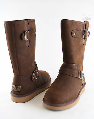 6aee5c728a7 Women UGG Australia Sutter Boot 1005374 Toast Leather 100%Authentic ...