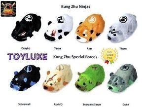 Kung-Zhu-Pets-Hamster-NINJA-WARRIOR-Drakyko-Yama-Azer-Thorn-SPECIAL-FORCE-Rock-039-O